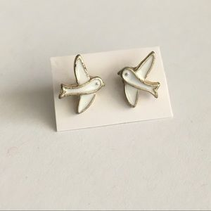 Dove Stud Earrings